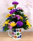 Happy Birthday Mug from Kircher's Flowers in Defiance and Paulding, OH