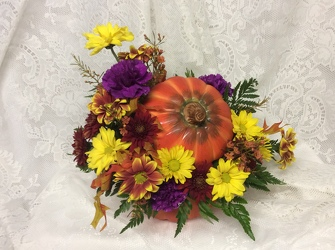 Pumpkin Surprise from Kircher's Flowers in Defiance and Paulding, OH