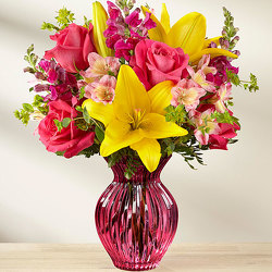 The FTD Happy Spring Bouquet from Kircher's Flowers in Defiance and Paulding, OH