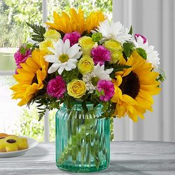 The FTD Sunlit Meadows Bouquet by BH&G from Kircher's Flowers in Defiance and Paulding, OH