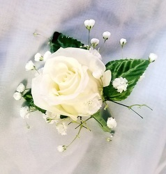 Boutonniere from Kircher's Flowers in Defiance and Paulding, OH
