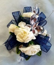 Wrist Corsage  from Kircher's Flowers in Defiance and Paulding, OH