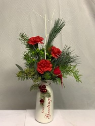 Seasons Greetings from Kircher's Flowers in Defiance and Paulding, OH