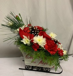 Sleigh Ride from Kircher's Flowers in Defiance and Paulding, OH