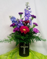 Spring Cross from Kircher's Flowers in Defiance and Paulding, OH