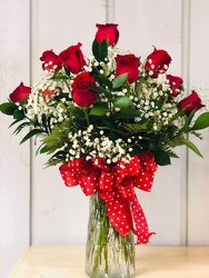 Dozen Delight Premium from Kircher's Flowers in Defiance and Paulding, OH