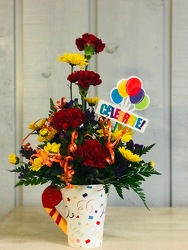 Celebrate from Kircher's Flowers in Defiance and Paulding, OH