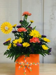 Happy Birthday Bouquet from Kircher's Flowers in Defiance and Paulding, OH