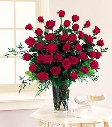 Three Dozen Roses from Kircher's Flowers in Defiance and Paulding, OH