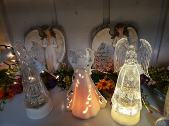 Light Up Angels from Kircher's Flowers in Defiance and Paulding, OH