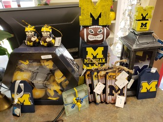Michigan Merchandise  from Kircher's Flowers in Defiance and Paulding, OH