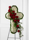 The FTD Floral Cross Easel from Kircher's Flowers in Defiance and Paulding, OH