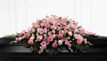 The FTD Sweetly Rest(tm) Casket Spray from Kircher's Flowers in Defiance and Paulding, OH