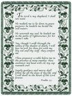 Psalm 23 from Kircher's Flowers in Defiance and Paulding, OH