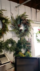 Wreaths from Kircher's Flowers in Defiance and Paulding, OH